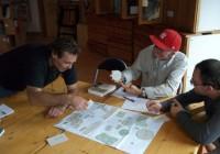 Réflexion sur le placement judicieux des divers éléments de l'aménagement d'un terrain d'habitation