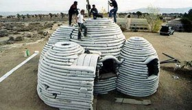 Formation SUPERADOBE : Construction d'un ECODOME
